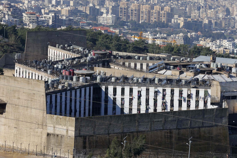 Vue générale de la prison libanaise de Roumieh, le 12 janvier 2015.