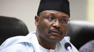 Mahmood Yakubu, président de l'INEC.