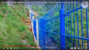 Barrière Frontiere Chine-Vietnam
