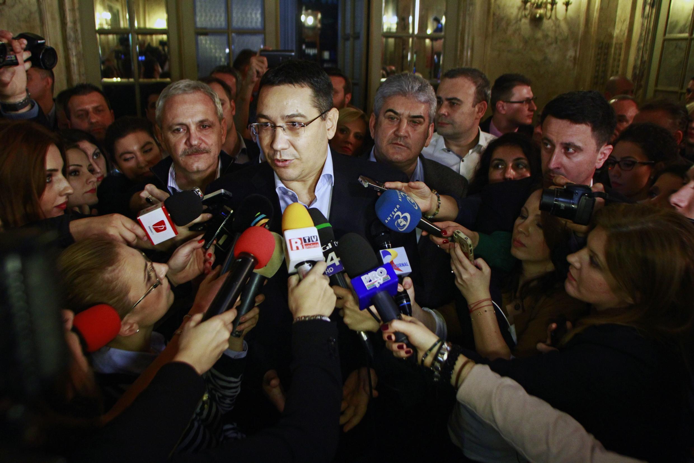 Thủ tướng Rumani Victor Ponta