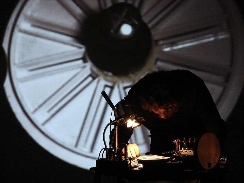 Pierre Bastien performs
