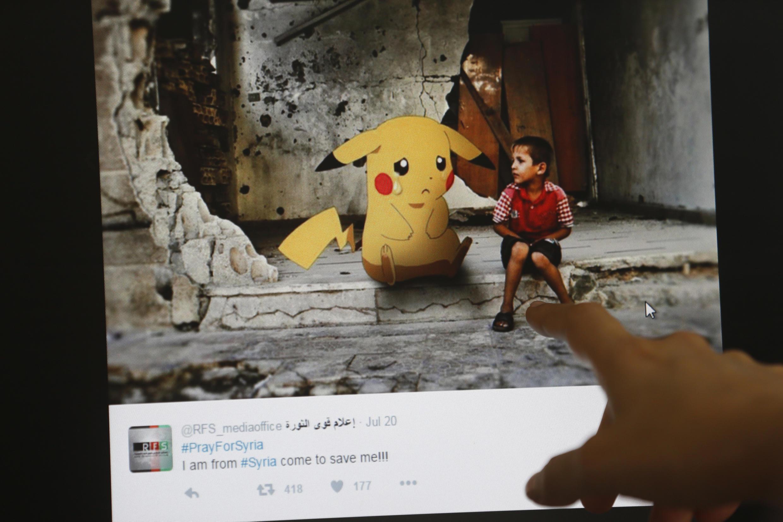 Artistas sírios usam pokémons para denunciar os horrores da guerra