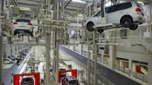 Fábrica da Volkswagen em Wolfsburg, no centro da Alemanha