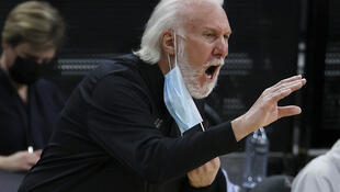 """San Antonio Spurs head coach Gregg Popovich has criticized a decision by Texas Governor Greg Abbott to end the state's mask mandate as """"ignorant"""""""