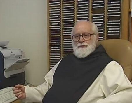 Père Armand Veilleux (Capture d'écran), à l'époque un des supérieurs des moines deTibéhirine.