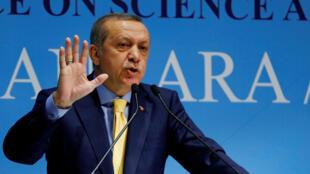 Tổng thống Thổ Nhĩ Kỳ Tayyip Erdogan, Ankara, 03/10/2016.