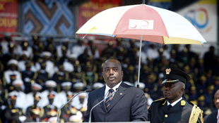 Le président de la République démocratique du Congo, Joseph Kabila, le 30 juin 2010.