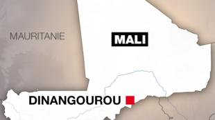 Mali-Localisation-Dinangourou
