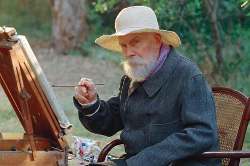 Imagem de filme que conta a história dos últimos momentos da vida artística do pintor Auguste Renoir.