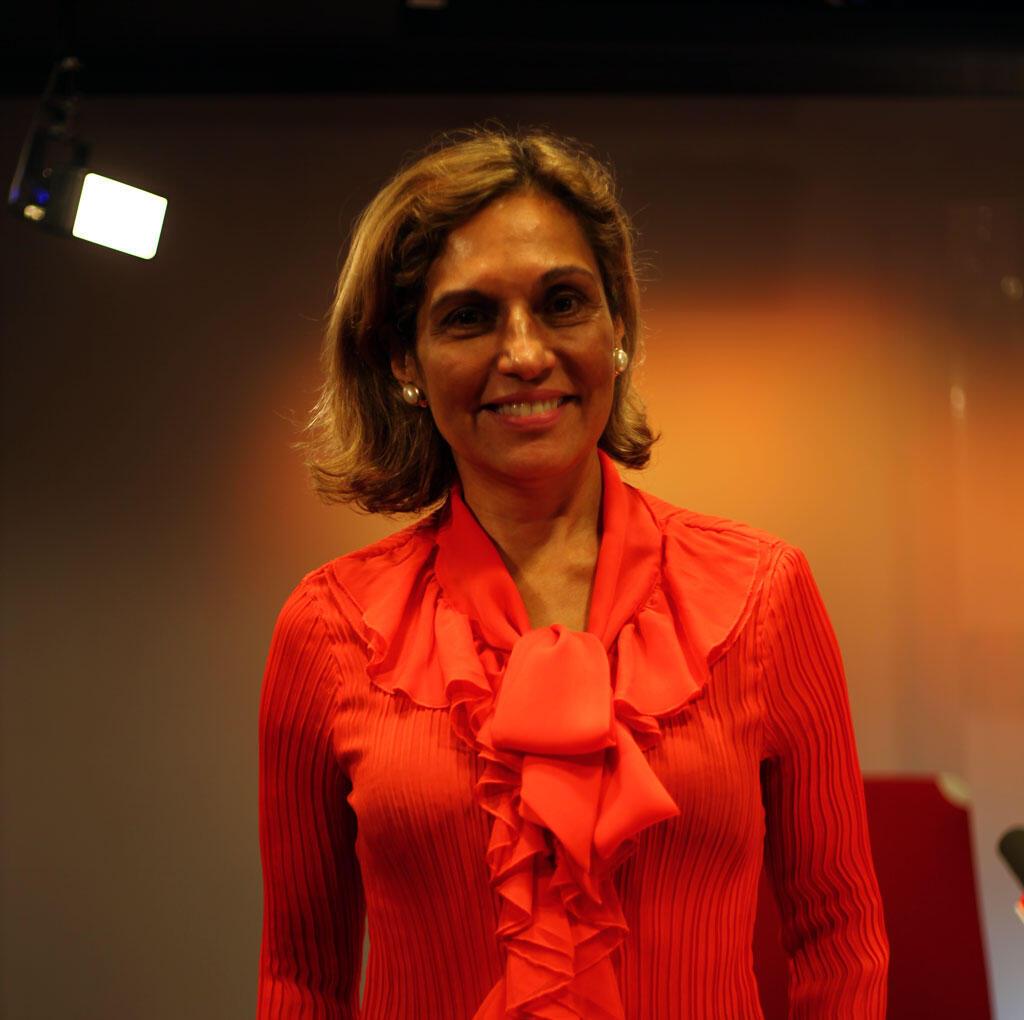 A atriz e diretora Hissa de Urkiola