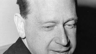 L'ancien secrétaire général de l'ONU, Dag Hammarskjöld en 1961.