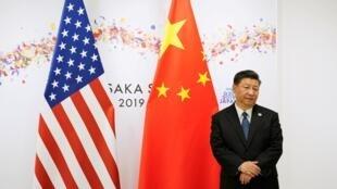 Le président Xi Jinping en juin 2019 à Osaka au Japon pour un rendez-vous avec Donald Trump en marge du sommet du G20.