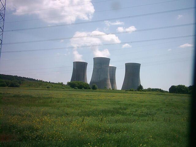 Usina nuclear de Mochovce, na Eslováquia.
