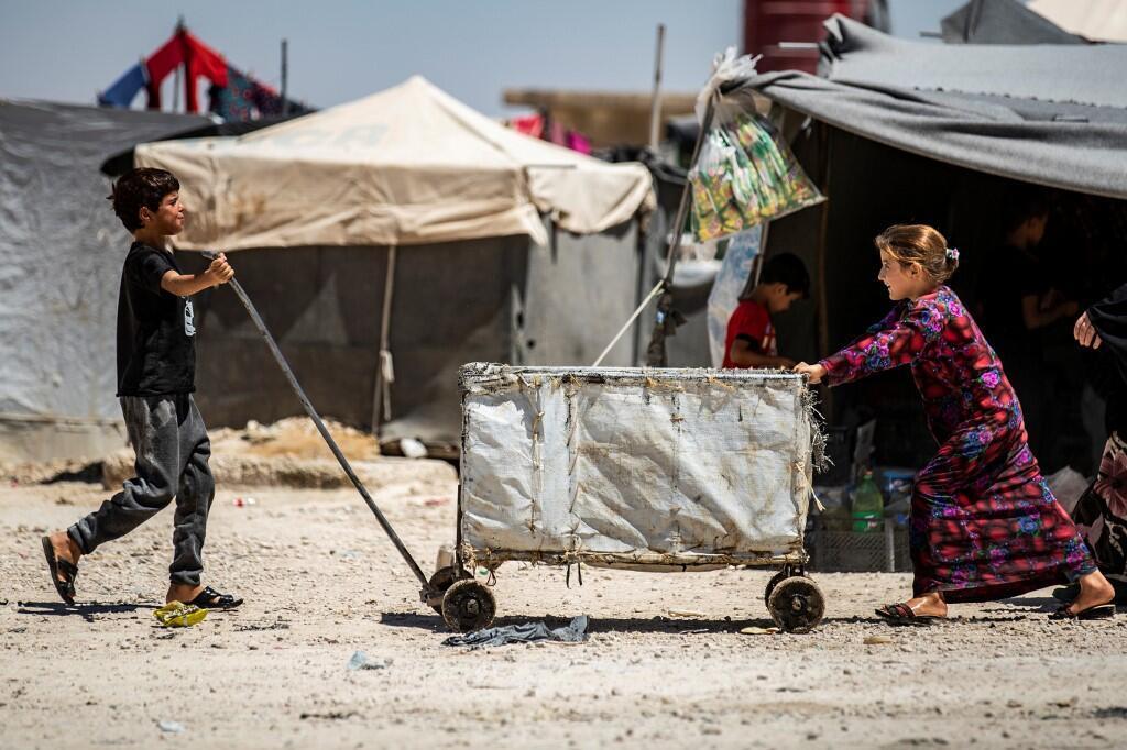 Les conditions de vie dans le camp d'al-Hol, dans le nord-est de la Syrie, sont catastrophiques.