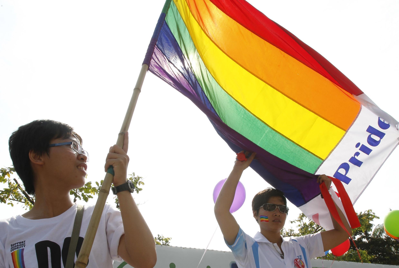 Gay Pride ở Việt Nam ngày 05/08/2012.