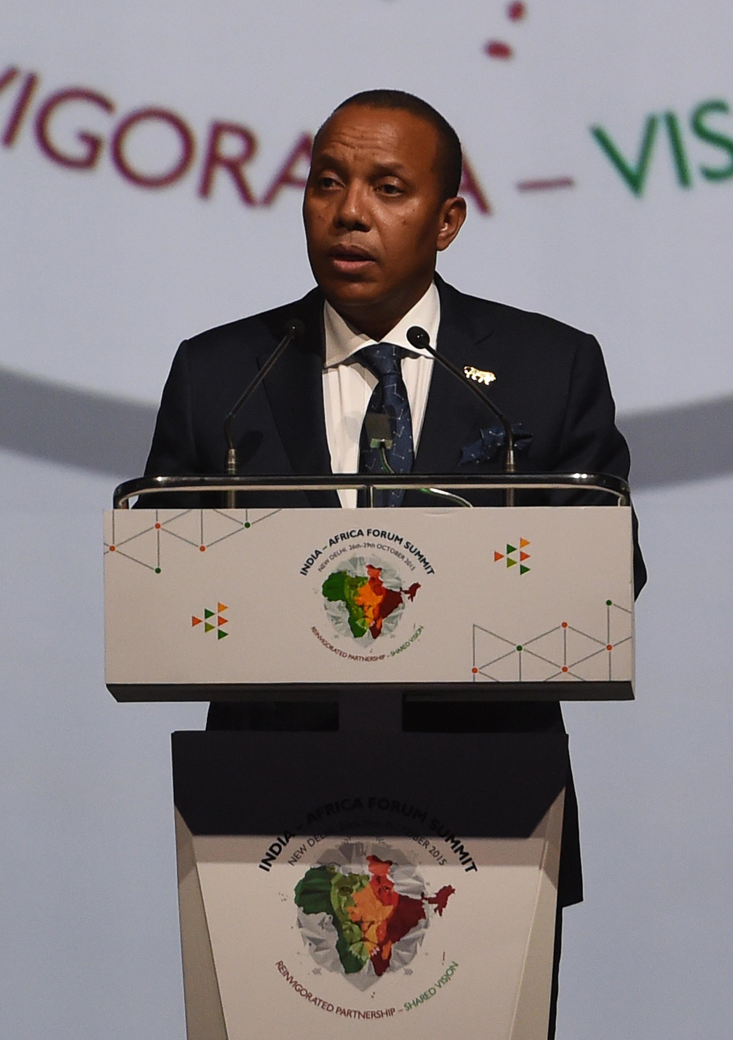 Patrice Trovoada, Primeiro-ministro de São Tomé e Príncipe.