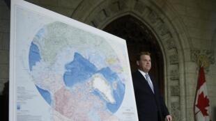 Министр иностранных дел Канады Джон Бэрд, Оттава, 9 декабря 2013 года