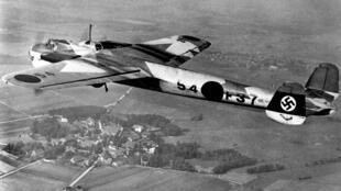 Un bombardier allemand Dornier 17.