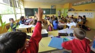 """La OCDE difundió el estudio """"Miradas sobre la Educación 2012"""" hoy en París."""