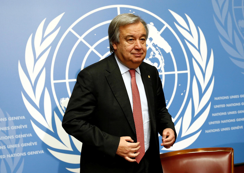 António Guterres, sectretário-geral da ONU