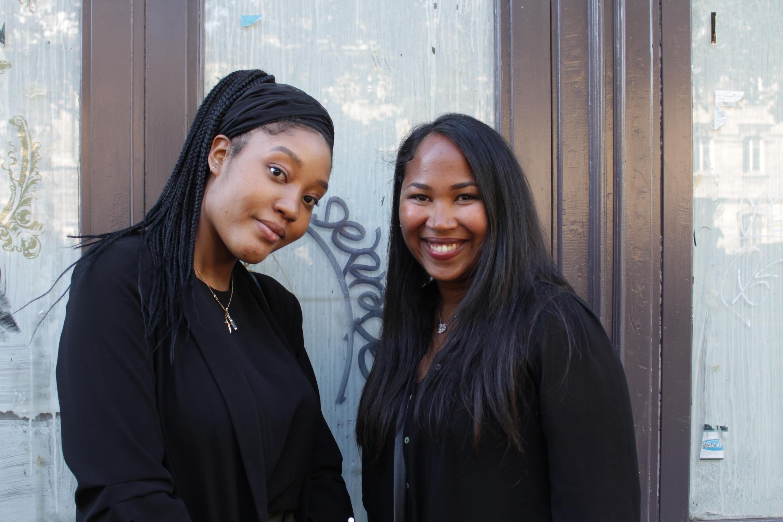 As francesas Raíssa e Sophie, que fizeram intercâmbio no Brasil