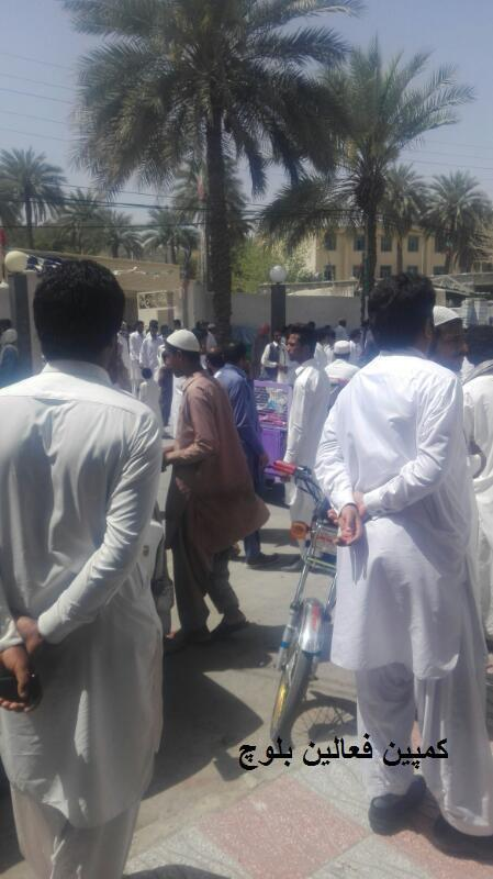 تجمع اعتراضی در استان سیستان و بلوچستان