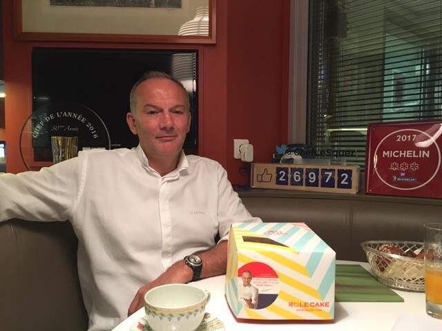 法國喬治五四季酒店名廚克里斯汀·勒·史奎爾(Christian Le Squer)