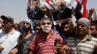 Partidários do presidente deposto Mursi, em julho de 2013.