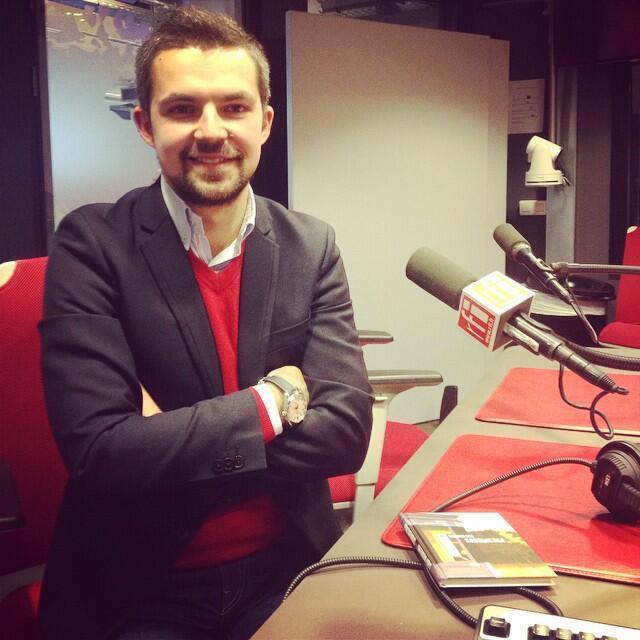Саша Филипенко в студии RFI