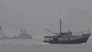 Tàu cứu hộ TQ đến  Đài Loan