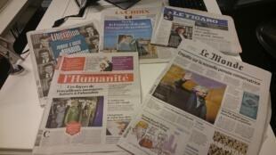 Diários franceses 10.01.2017