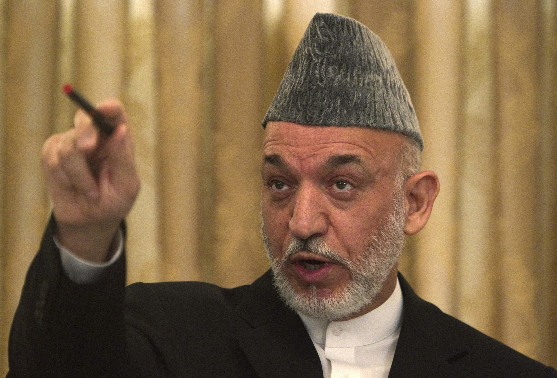 Rais wa Afghanistani Hamid Karzaï