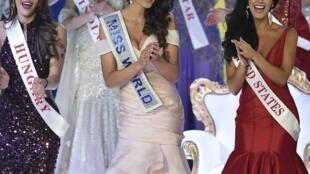 Rolene Strauss, Miss Afrique du Sud 2014 et Miss Monde 2015.