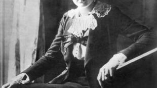 Lili Boulanger, 1ère femme à recevoir le grand prix de Rome, le graal des compositeurs français. Elle est décédée il y a 100 ans (le 15 mars 1918).