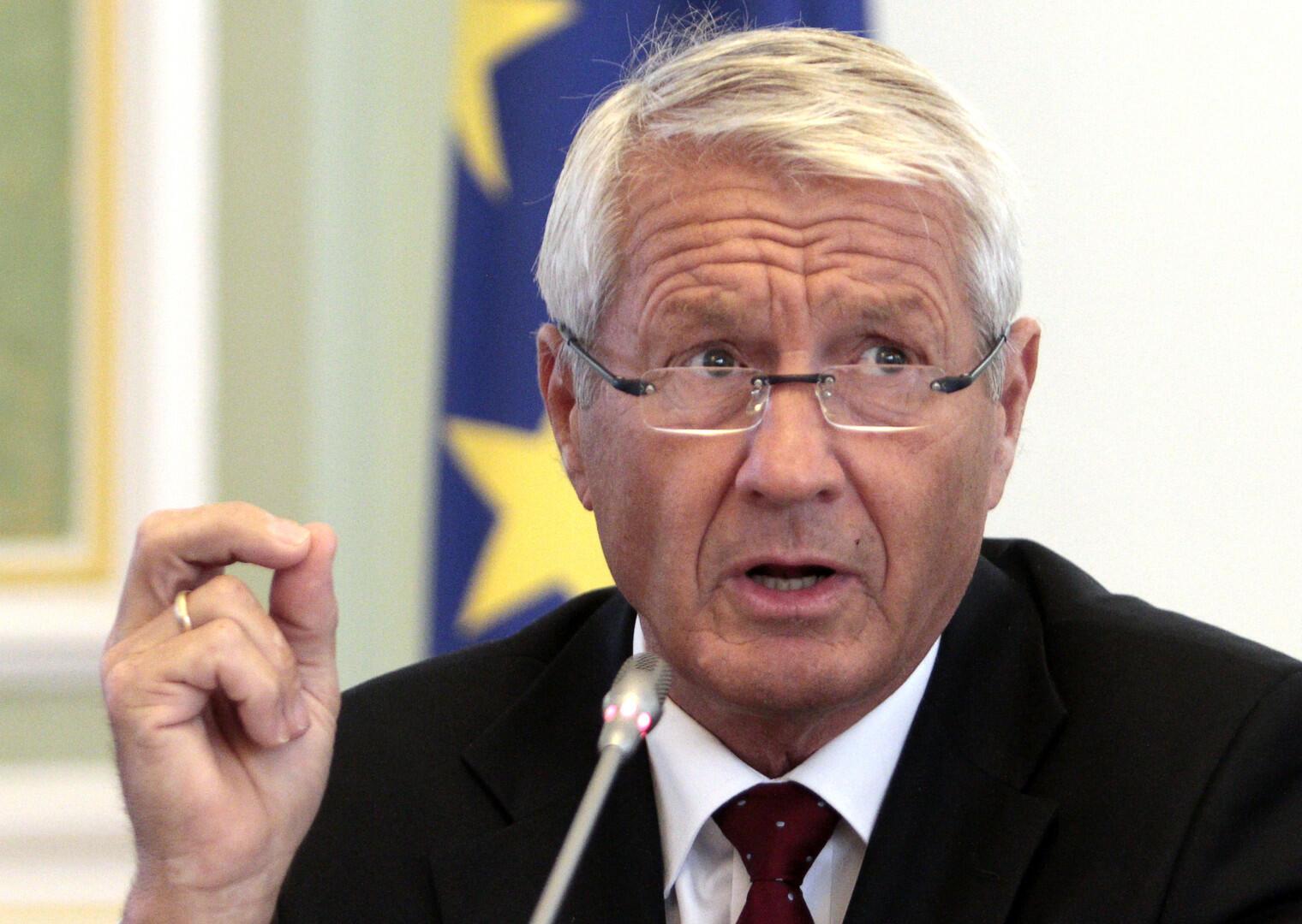 Генсек Совета Европы Турбьёрн Ягланд.