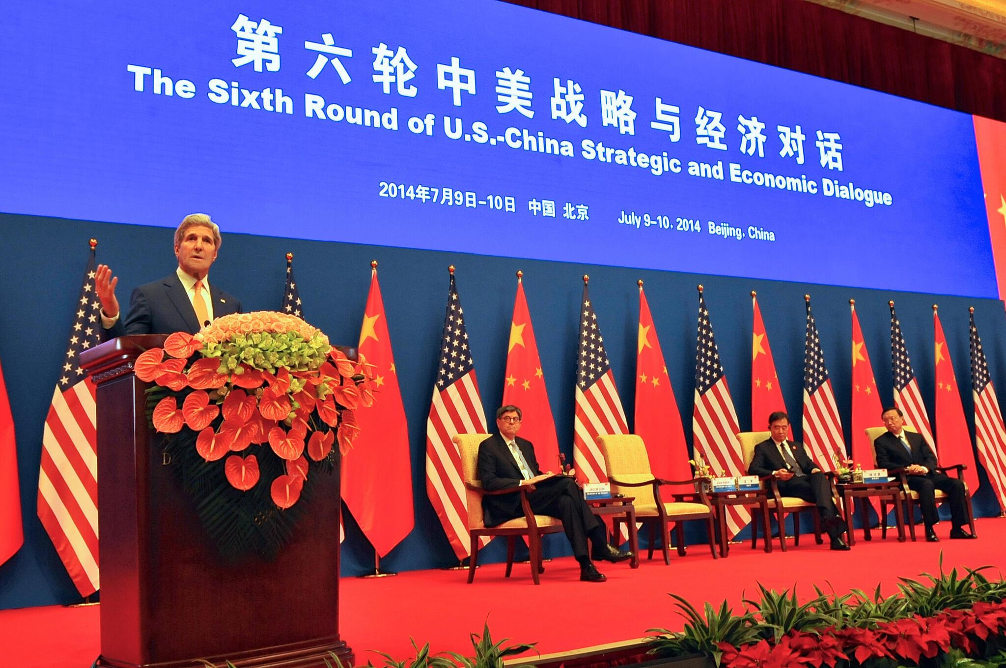 Ngoại trưởng Mỹ John Kerry khai mạc Đối thoại Chiến lược Mỹ Trung, ngày 09/07/2014 tại Bắc Kinh