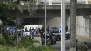 35 cadavres ont été découverts sous un pont à la périphérie de Veracruz, le  20 septembre 2011.