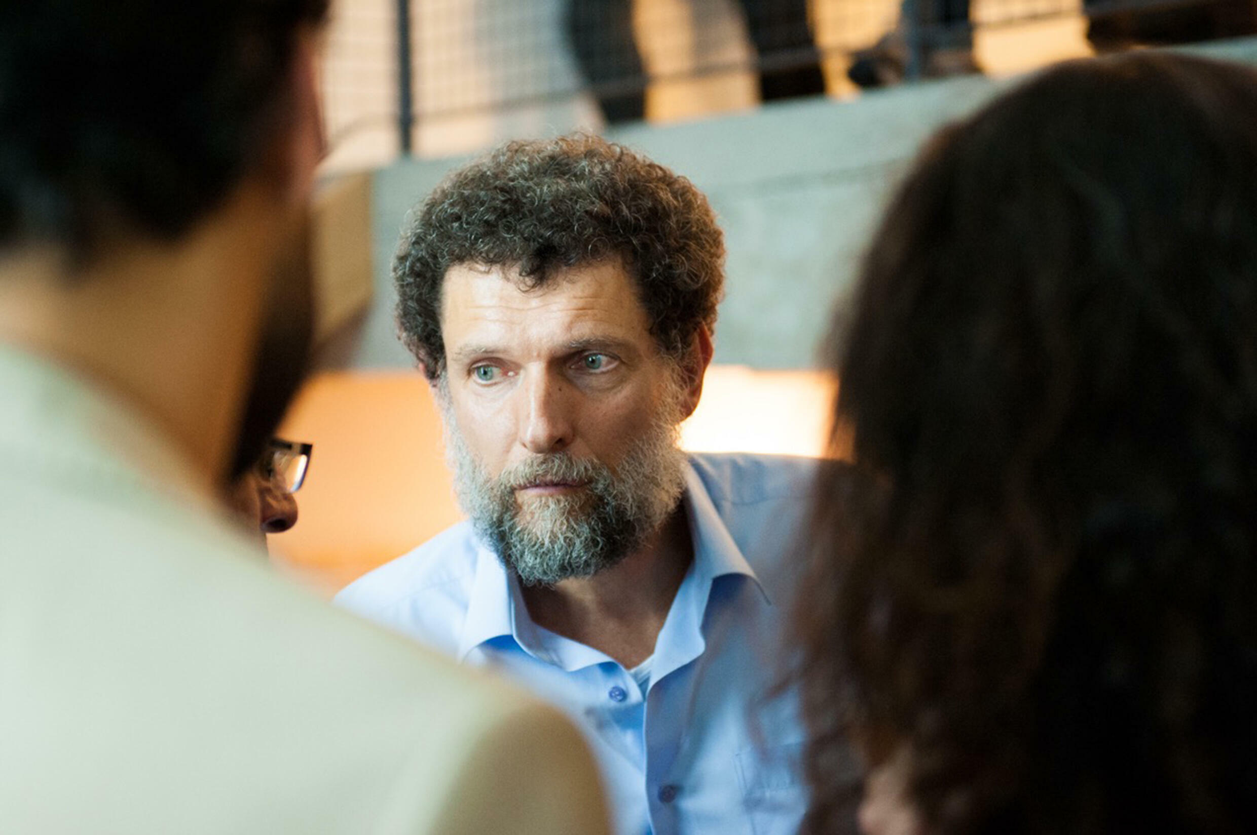 Turkish philanthropist Osman Kavala says he believes his best hope for release is through the Council of Europe