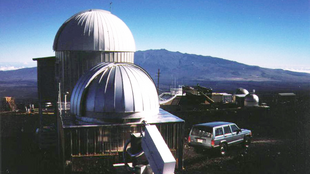 Hawaii's Mauna Loa observatory, where new samples of CO2 have been collected