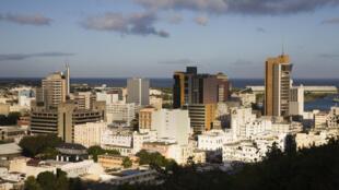 Vue de Port-Louis, la capitale de l'île Maurice.