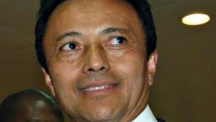 Le président évincé de Madagascar, Marc Ravalomanana dont les conditions du retour sur la Grande île, ont été le principal point d'achoppement tout au long des pourparlers.