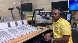 IMAGE GUINEE Facely Konaté, directeur de Radio espace forêt 02/03/2021
