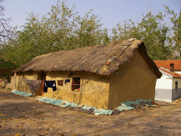 La maison natale du père de Li Keqiang.