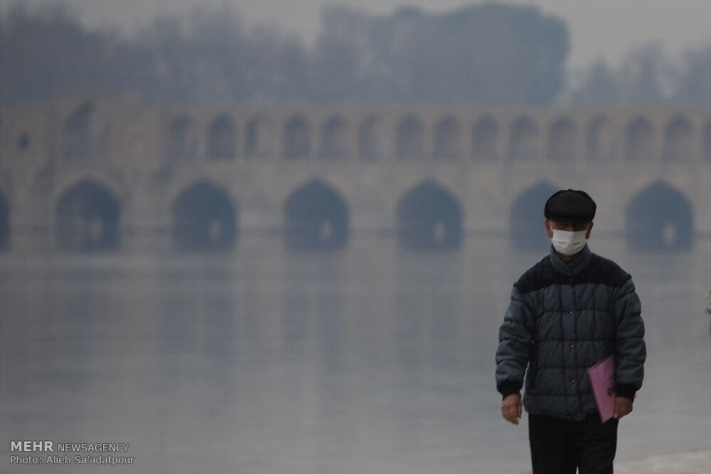 آلودگی هوا در اصفهان