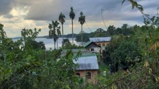 Les dortoirs de la mission protestante de Ngomo au Gabon, le 26 octobre 2019.