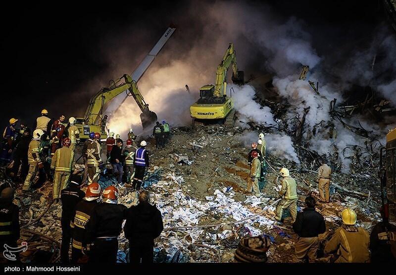 گزارش آتش سوزی ساختمان پلاسکو امروز تسلیم دولت شد