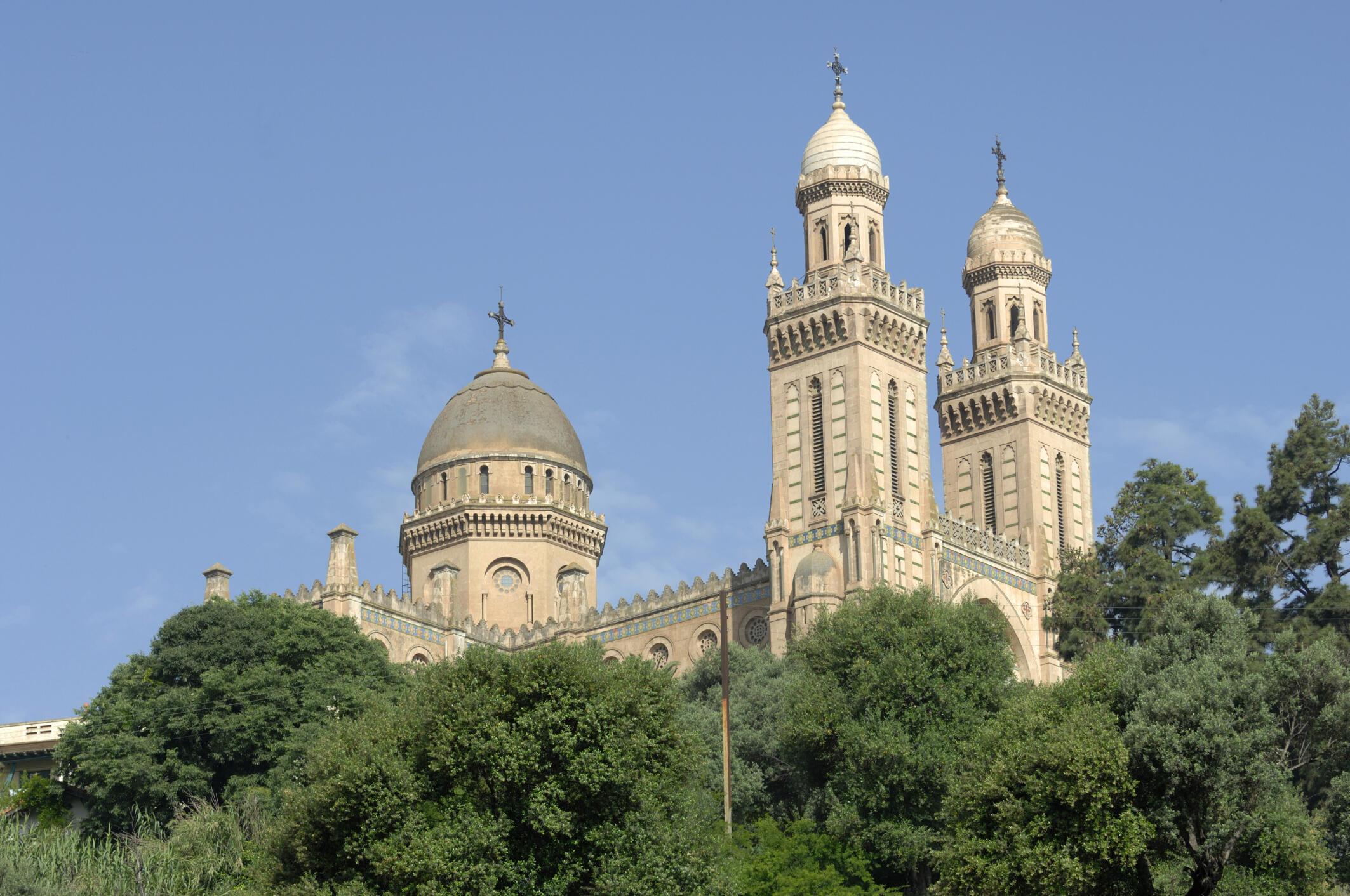 La basilique Saint-Augustin à Annaba.