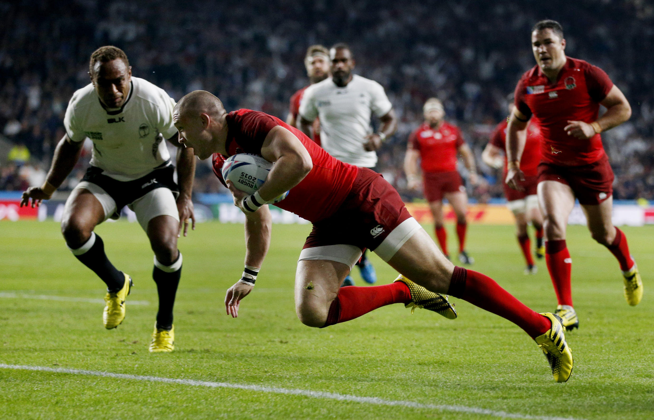 England vs Fiji in opening match of rugby World Cup