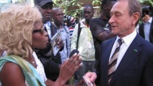 Bertrand Delanoë déjà sollicité par des artistes dakarois désireux de participer à l'opération Tandem Dakar-Paris 2013.