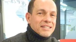 Yezid Arteta en los estudios de RFI